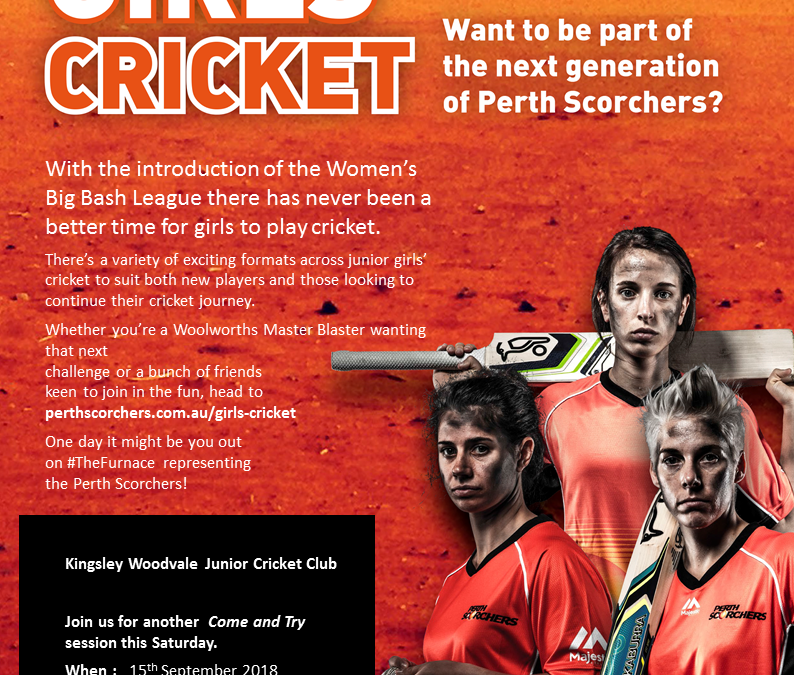 Come and Try Girls Cricket 2