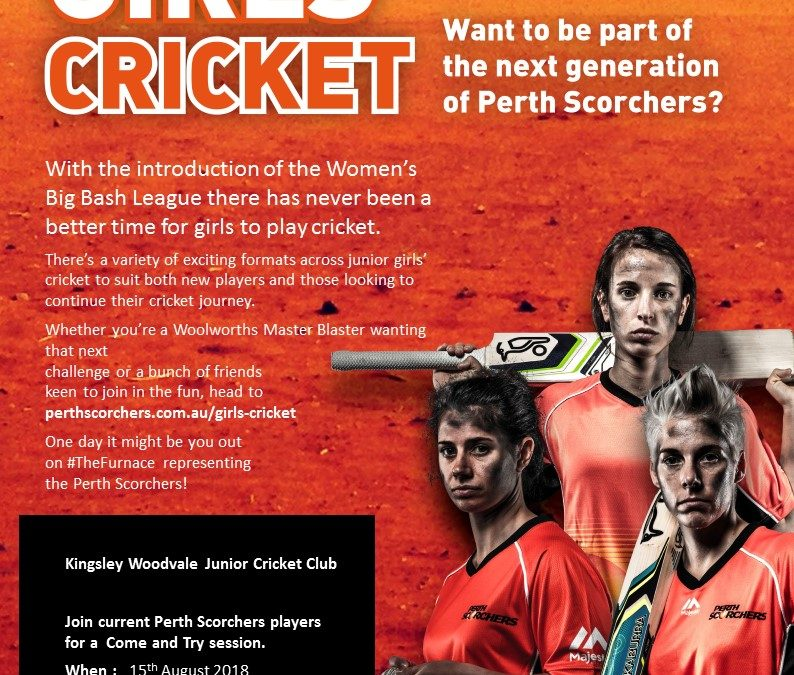Come and Try Girls Cricket